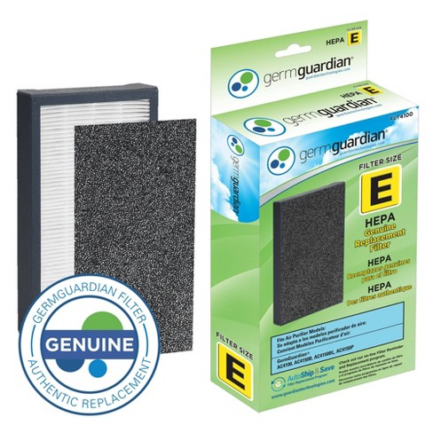 GermGuardian FLT4100 HEPA GENUINE Replacement Air Control Filter E for AC4100 Air Purifier - image 1 of 4