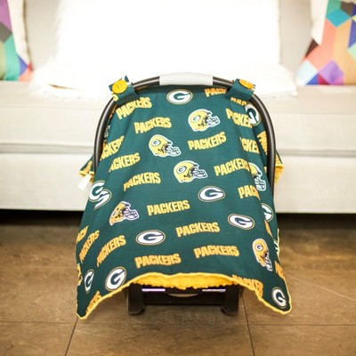 Green Bay Packers Carseat Canopy