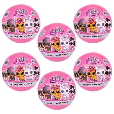 L.O.L. Surprise! 6pk Pets Series Surprise Ball Pink