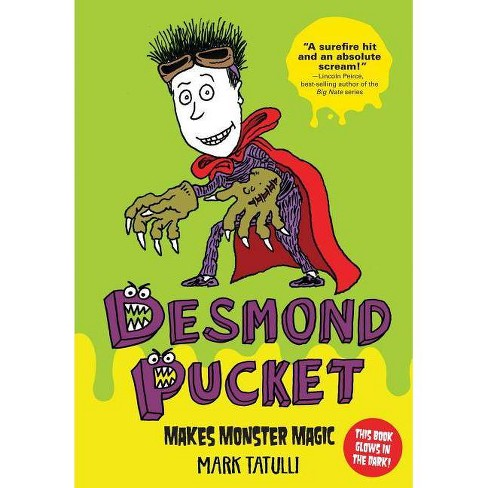 Desmond Pucket Makes Monster Magic - (Amp! Comics for Kids) by  Mark Tatulli (Hardcover) - image 1 of 1