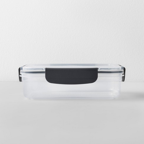 Rectangular Plastic Food Storage Container 4 cup - Made By Design™ - image 1 of 4