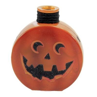 "Stony Creek 4.5"" Halloween Pre-Lit Round Jar Jack-O-Lantern  -  Novelty Sculpture Lights"