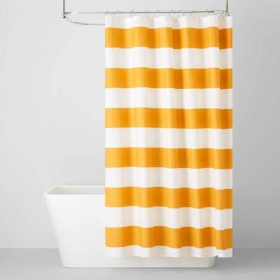 Texas Sunset Rugby Stripe Shower Curtain - Pillowfort™