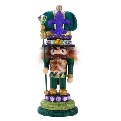 "Kurt Adler 12"" Hollywood Mardi Gras Nutcracker"