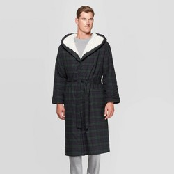 Men's Plaid Sherpa Robe - Goodfellow & Co™