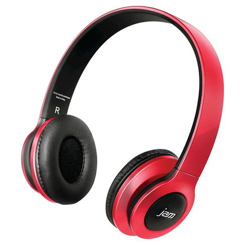 JAM Transit Wireless Headphones - Red - image 1 of 1