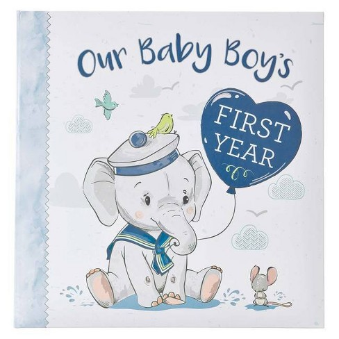 Memory Book Our Baby Boy's First Year - (Hardcover) - image 1 of 1