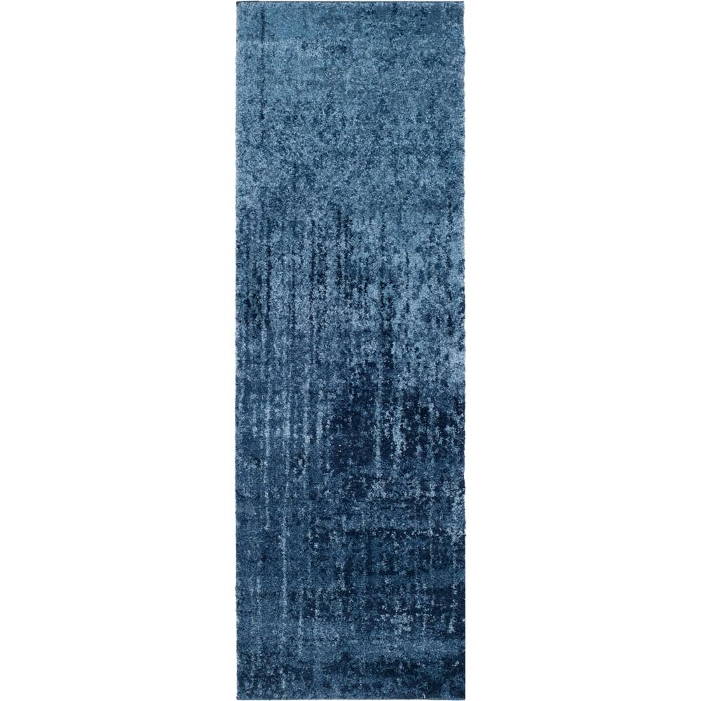2'3X13' Fleck Loomed Runner Blue - Safavieh