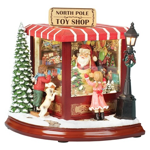 Santa's North Pole Toy Shop Holiday Figurine - image 1 of 1