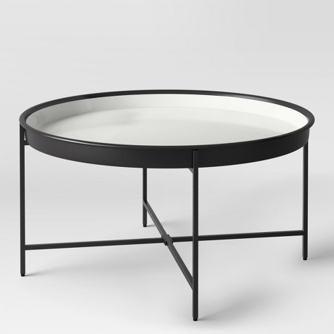 Pradet Tray Coffee Table Black White Project 62