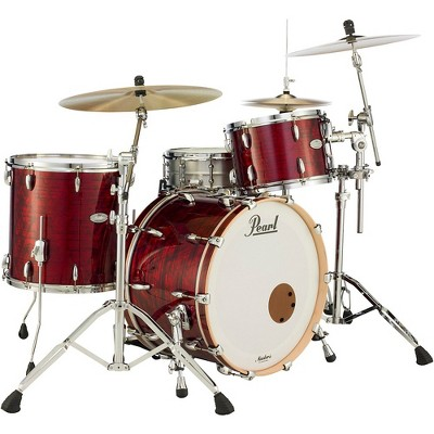 Pearl Music City Custom Masters Maple Reserve 3-Piece Shell Pack Red Onyx