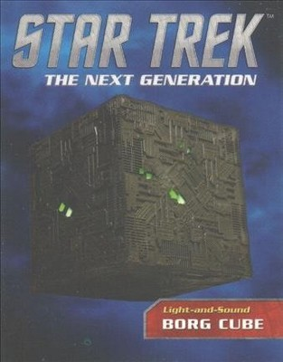 star trek the next generation light and sound borg cube by chip