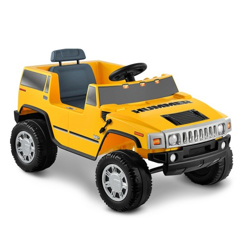 Kid Motorz 6V Hummer H2 Powered Ride-On - Yellow - image 1 of 4