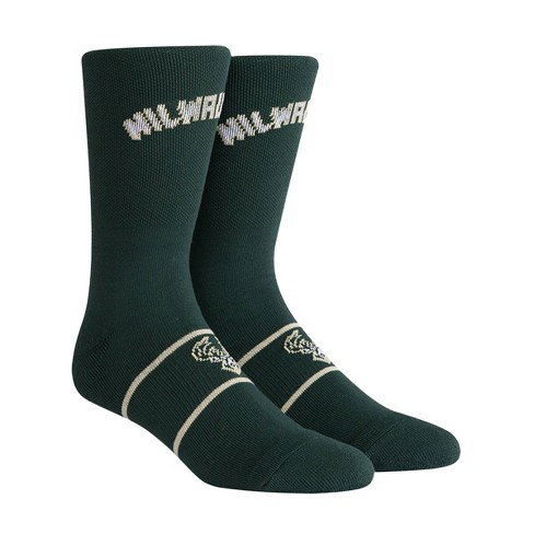 NBA Milwaukee Bucks Uniform Youth Crew Socks - M - image 1 of 2
