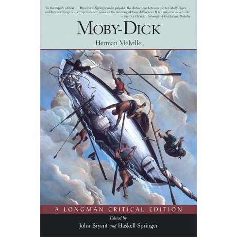 Moby Dick - (Longman Critical Edition) by  Herman Melville & John Bryant & Haskell Springer (Paperback) - image 1 of 1