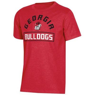 NCAA Georgia Bulldogs Boys' Short Sleeve Crew Neck T-Shirt