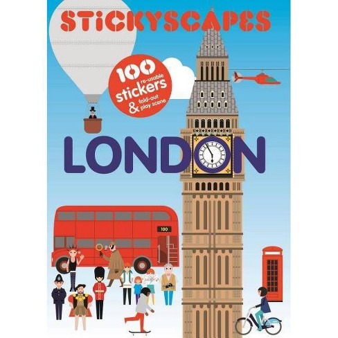 Stickyscapes London Magma For Laurence King Paperback