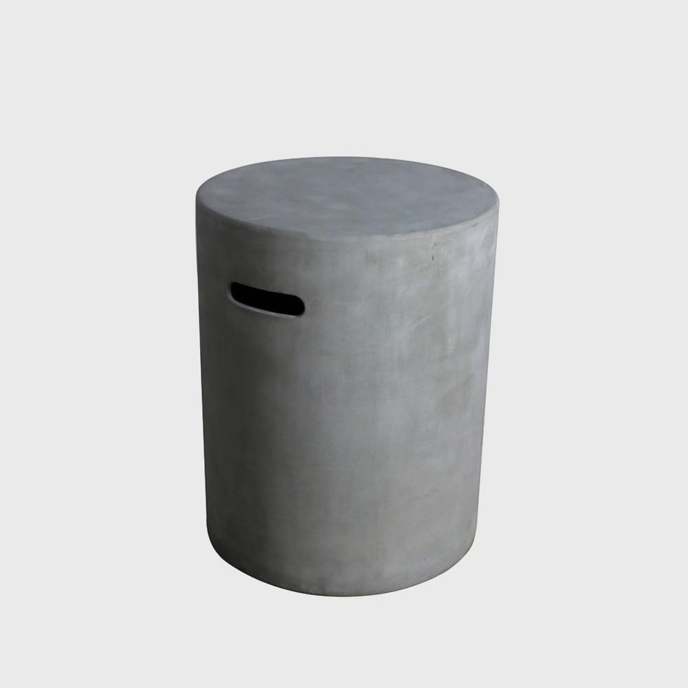 Round Fiberglass Tank Cover - Gray - Modeno