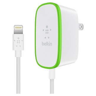 2.4 Amp Home Charger with Lightning Cable - Belkin