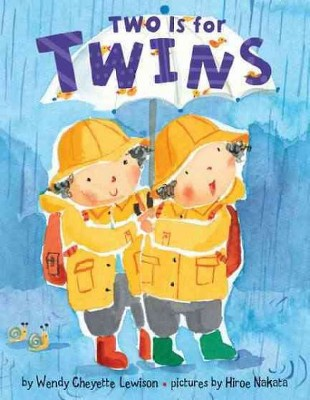 Two Is for Twins - by Wendy Cheyette Lewison (Board Book)