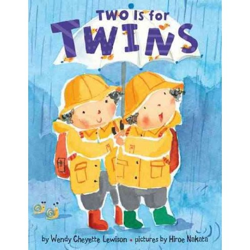 Two Is for Twins - by  Wendy Cheyette Lewison (Board_book) - image 1 of 1