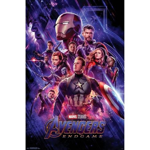 "34""x23"" Avengers: Endgame One Sheet Unframed Wall Poster Print - Trends International - image 1 of 2"