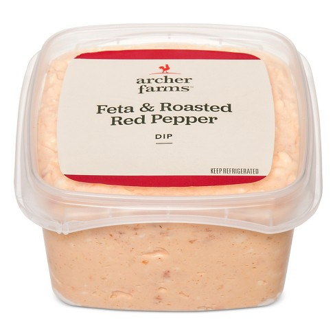 Feta & Roasted Red Pepper Dip - Archer Farms™ - image 1 of 1