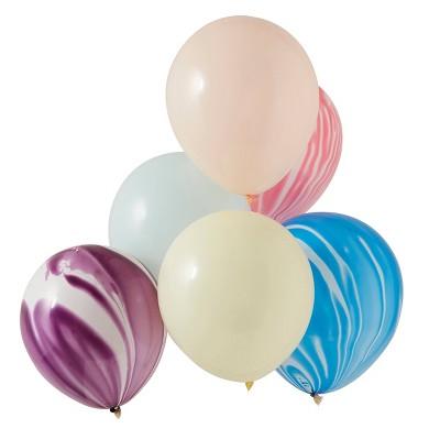 Marble Balloon Bundle Pastel