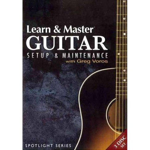 Learn & Master Guitar Setup & Mainten (DVD) - image 1 of 1