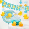 24ct Rubber Duck Bubble Bath Paper Plates Yellow - image 3 of 3