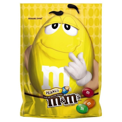 M&M's Peanut Chocolate Candy - 8oz - image 1 of 3