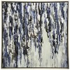"""40"""" Textured Hand Painting Low Profile Framed Stretched Canvas Decorative Wall Art Gold - StyleCraft - image 2 of 4"""