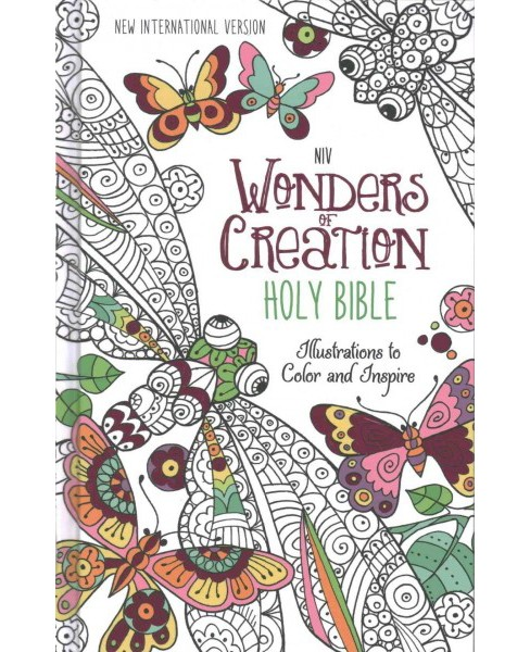 Holy Bible : New International Version, Wonders of Creation Holy Bible: Illustrations to Color and - image 1 of 1