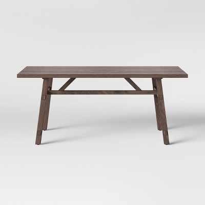 72  Bourne Base Dining Table Brown - Threshold™