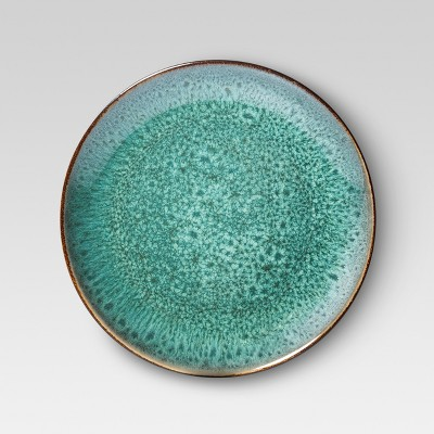 Belmont Stoneware Salad Plate 8.375   Green - Set of 4 - Threshold™