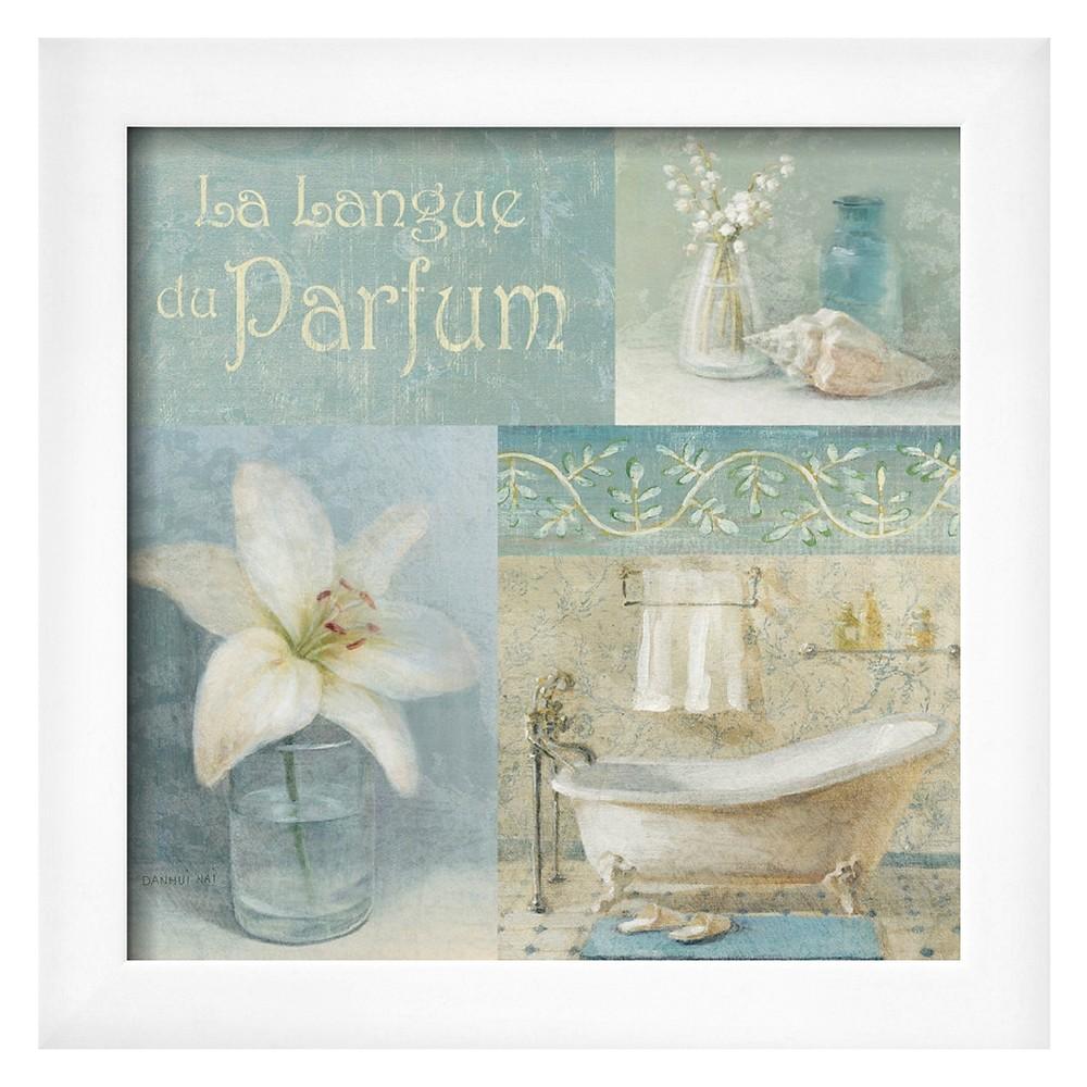 Art.com Parfum I by Danhui Nai - Framed Art Print, Soho White
