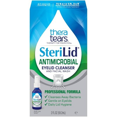 TheraTears Sterilid Antimicrobial Eyelid Cleanser and Facial Wash - 2 fl oz