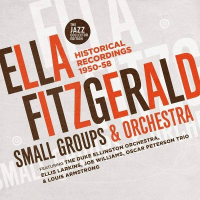 Fitzgerald ella - Small groups & orchestra: historical recordings 1950-58 (CD)