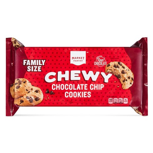 Chewy Chocolate Chip Cookies 19.5oz - Market Pantry™ - image 1 of 1