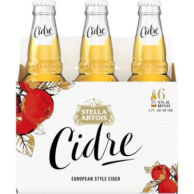 Stella Artois Cidre European Style Cider - 6pk/12 fl oz Bottles