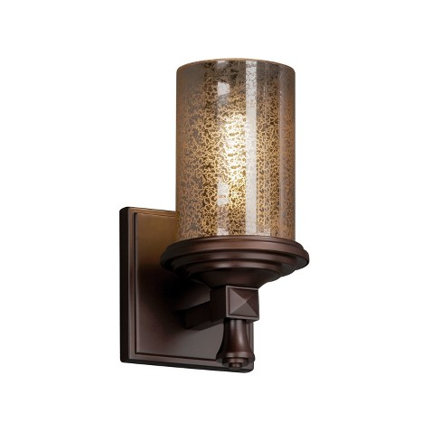 """Justice Design Group FSN-8531-10-MROR Fusion 4.5"""" Deco 1 Light Wall Sconce - image 1 of 1"""