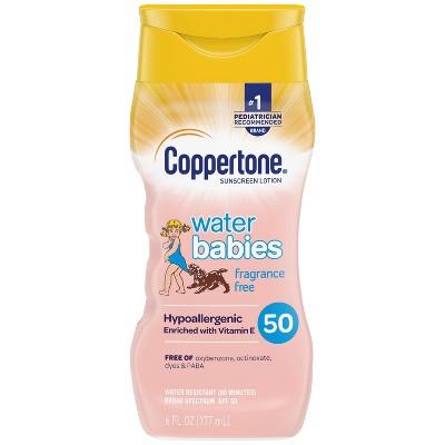 Coppertone Waterbabies Fragrance Free Sunscreen Lotion - SPF 50 - 6 fl oz