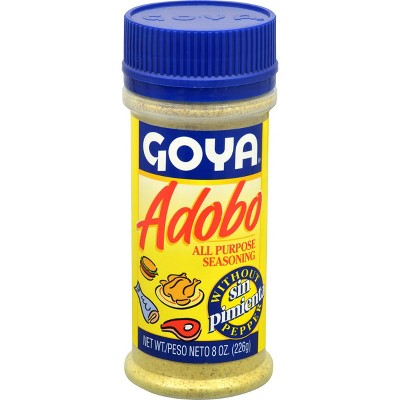 Goya Adobo All Purpose Seasoning Without Pepper 8oz Target