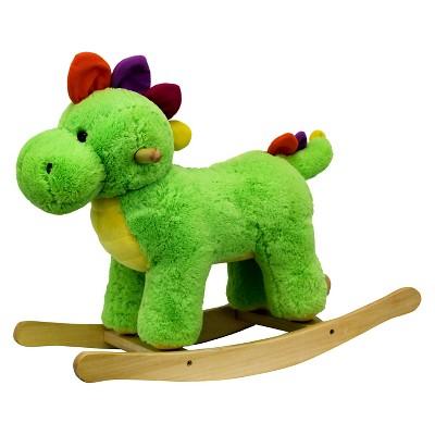 PonyLand Toys Rocking Dinosaur with Music