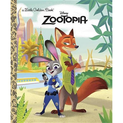 Zootopia - (Little Golden Book) by  Heather Knowles (Hardcover)