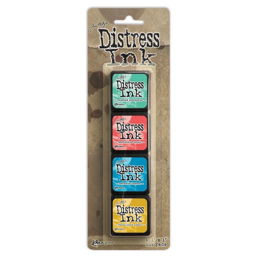 "Image of ""Distress Mini Ink Pads Kit 13-Asst Colors 4""""x1"""""""