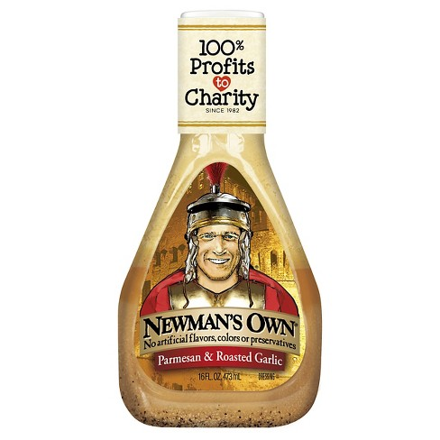 Newman's Own Parmesan and Roasted Garlic Dressing - 16oz - image 1 of 1