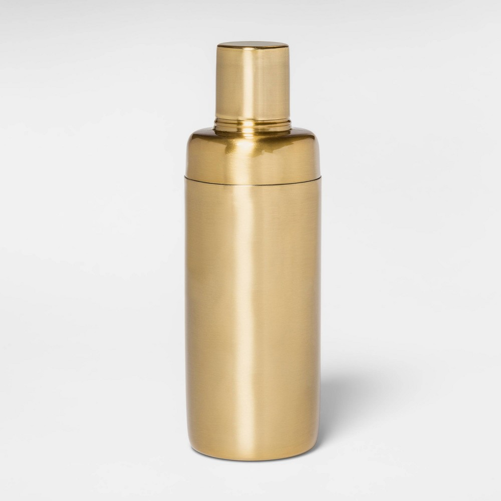 Image of 21oz Stainless Steel Cocktail Shaker Gold - Project 62
