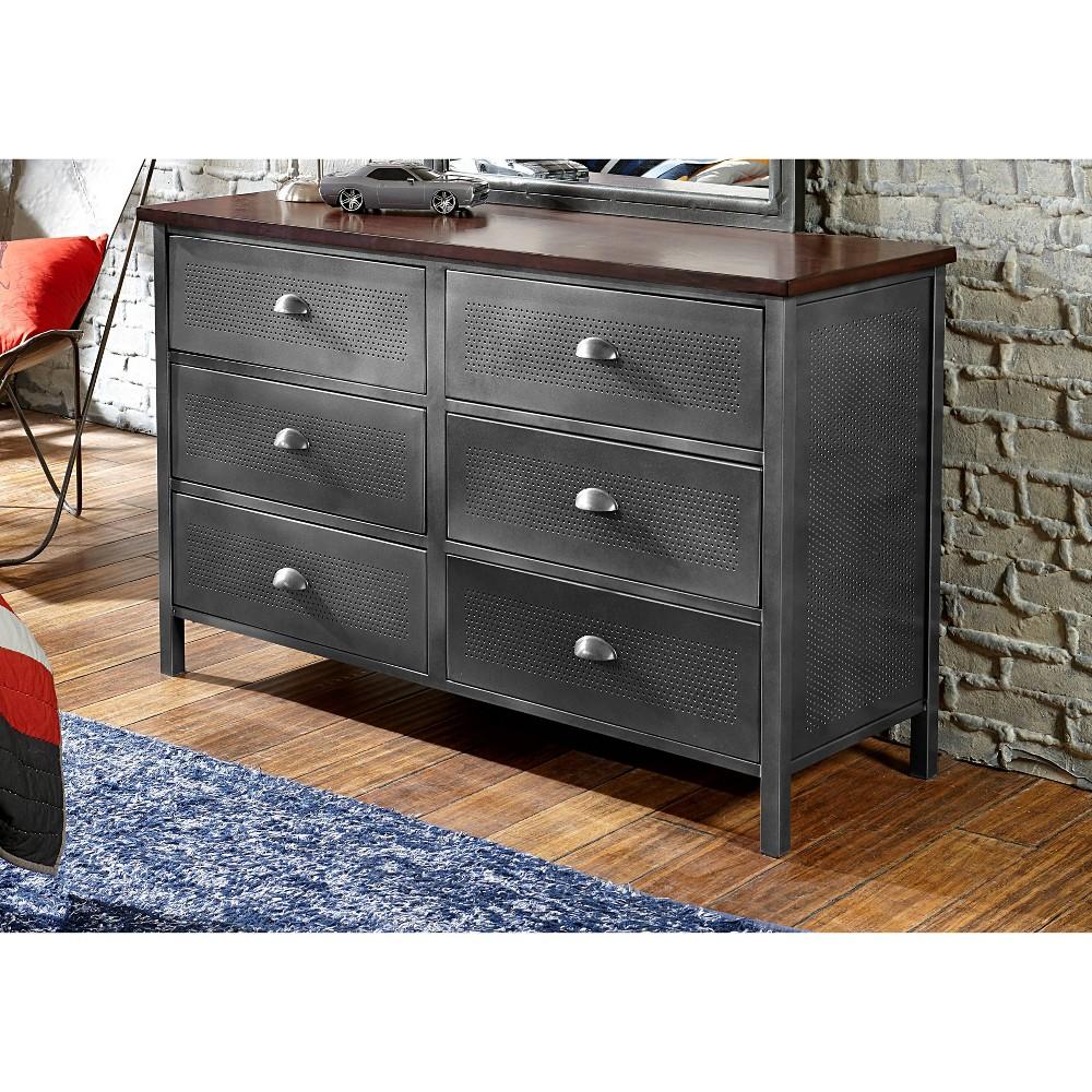 Image of Kids Urban Quarters Dresser Black - Hillsdale Furniture