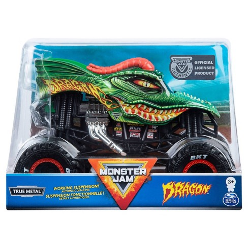 Monster Jam Die Cast Truck - 1:24 Scale - Dragons - image 1 of 4